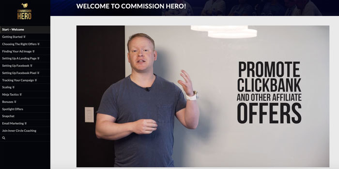 Is The Commission Hero Affiliate Marketing For Beginners?
