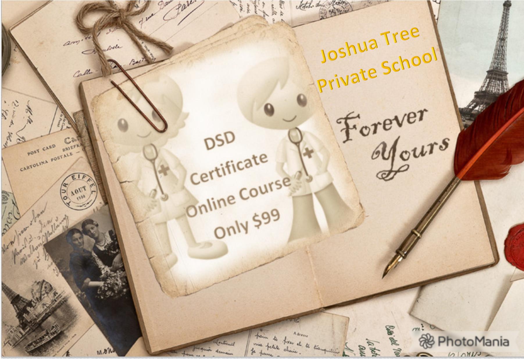 DSD Director of staff development certification California